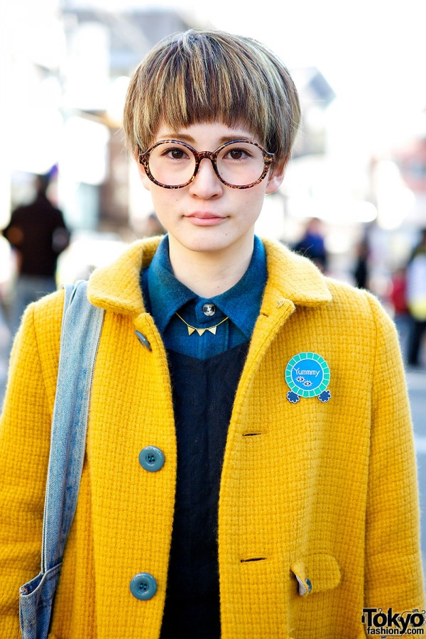 Japanese Pixie Cut Hairstyle
