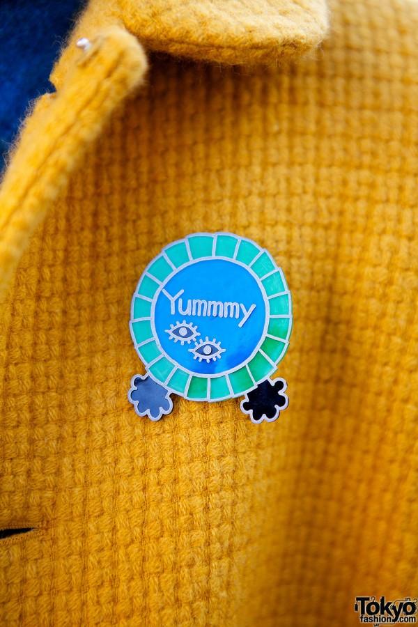 Yummy pin