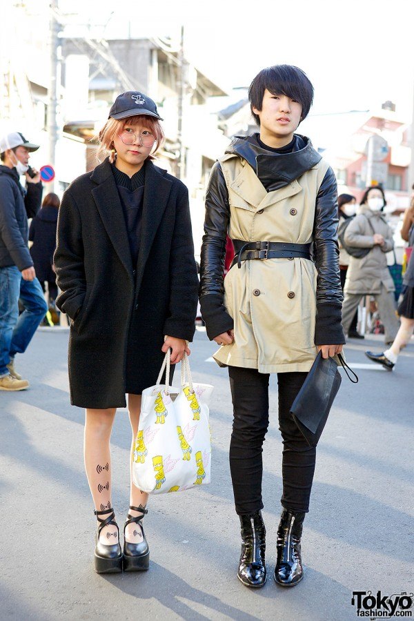 Stylish Harajuku students