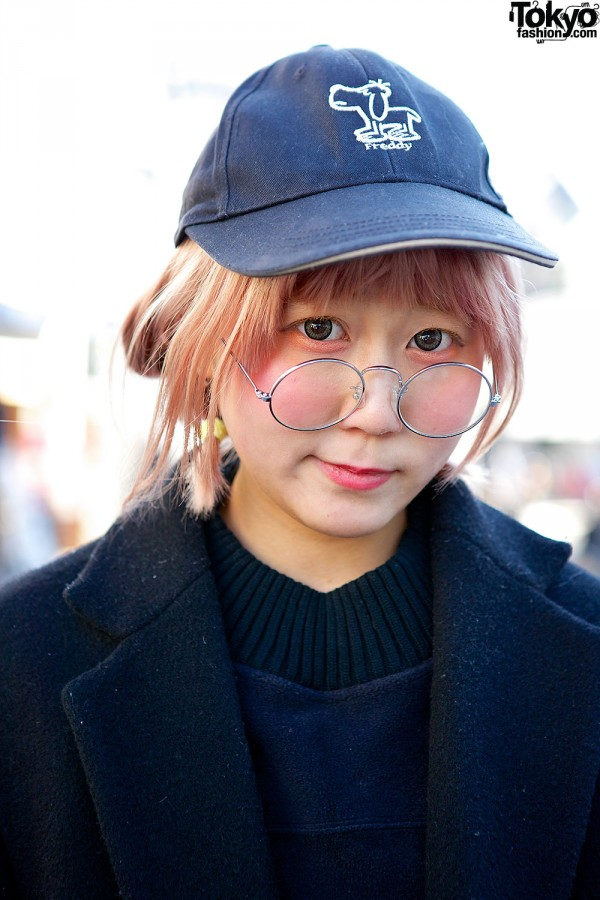 Cap & glasses