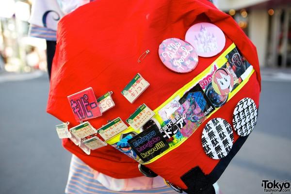 Colorful Harajuku Backpack