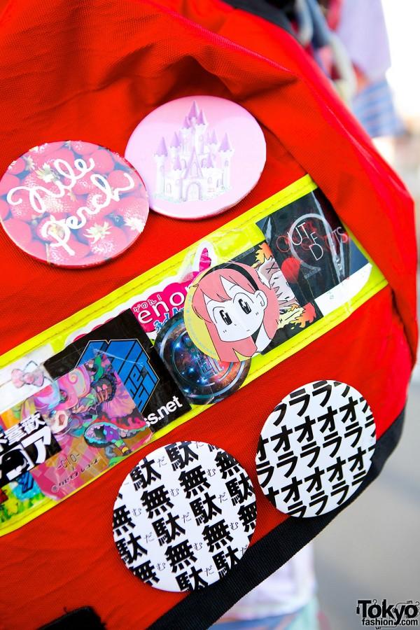 Kinoko Pink backpack