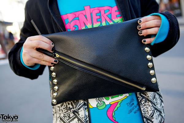 Jeremy Scott clutch