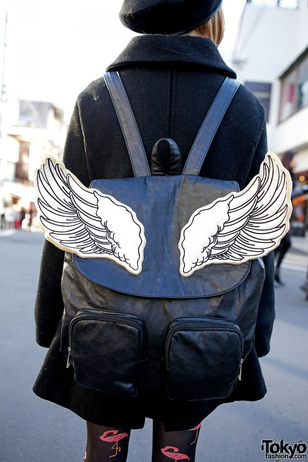 Glad News wings backpack