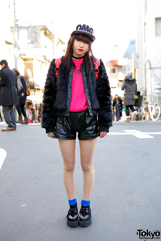 Faux Fur & Faux Leather Fashion