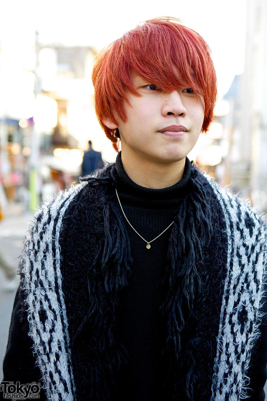 orange hair boy Gallery