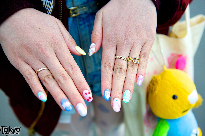 Rings & nail art – Tokyo Fashion News