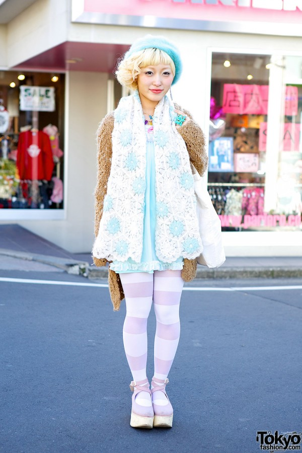 Kumamiki from Party Baby w/ 6%DOKIDOKI, Candy Stripper & Ribbon Casket