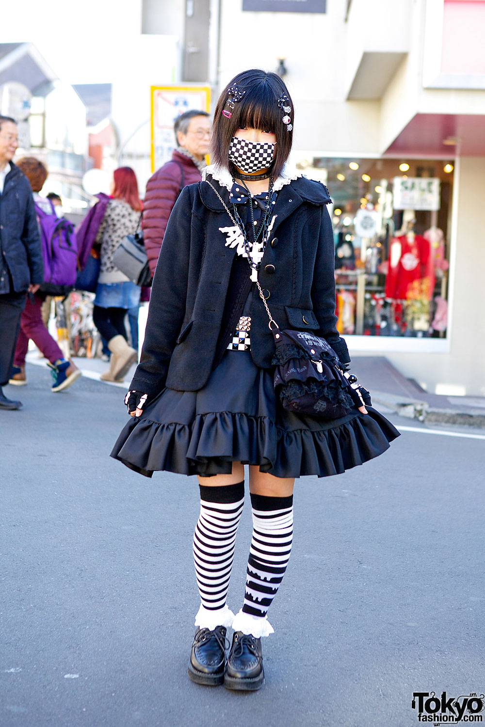 Harajuku Sound System Nemu Is Wearing A Top From Axes