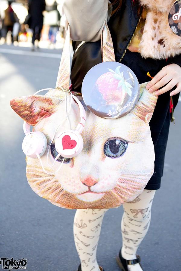 Harajuku Cat bag