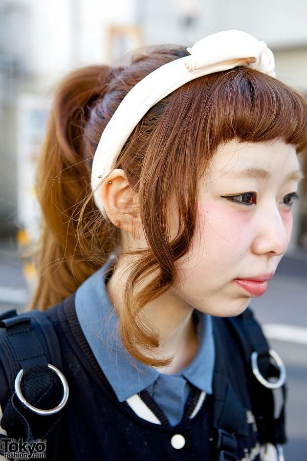 Cute Harajuku hairstyle