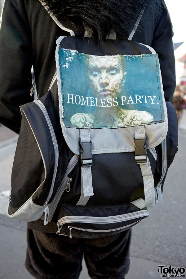 Homeless Party backpack