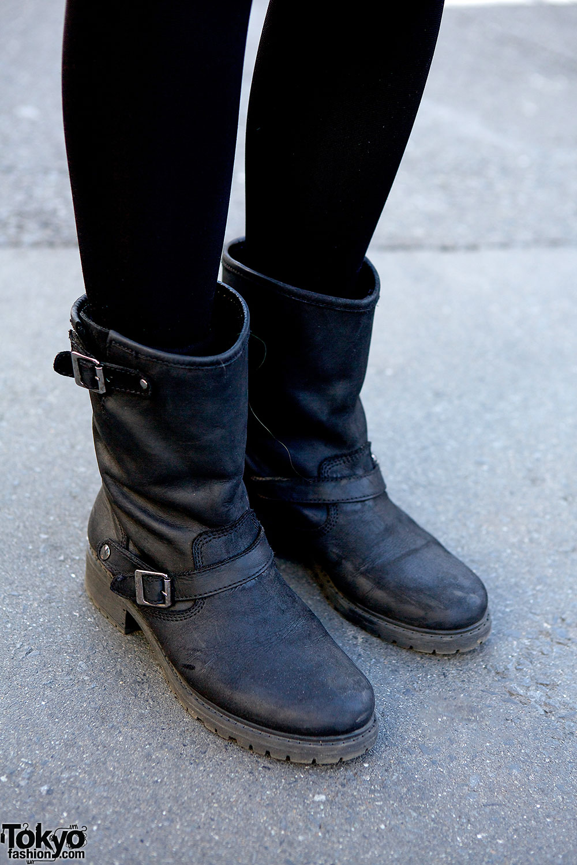 Biker Boots In Harajuku Tokyo Fashion News