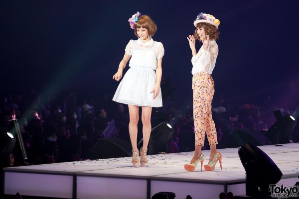 Prisila Wigs at Tokyo Girls Collection 2013 SS