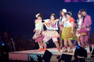 Piki no Kobuta chan at Tokyo Girls Collection 2013 SS
