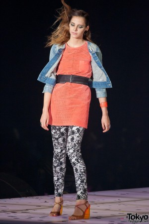 WWD Japan at Tokyo Girls Collection 2013 SS