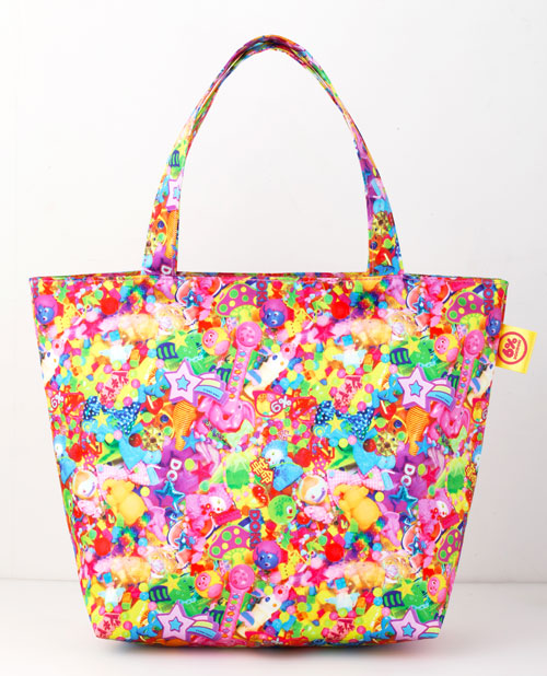6%DOKIDOKI Colorful Rebellion Tote Bag