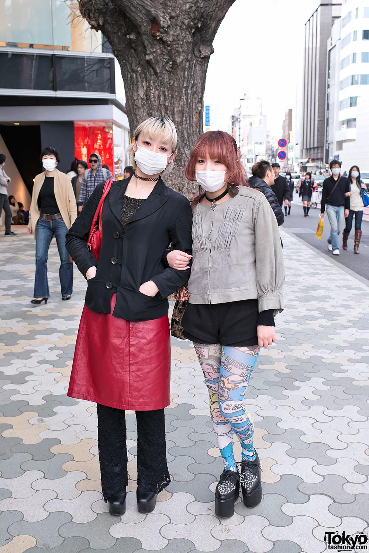 Harajuku Girls Near LaForet