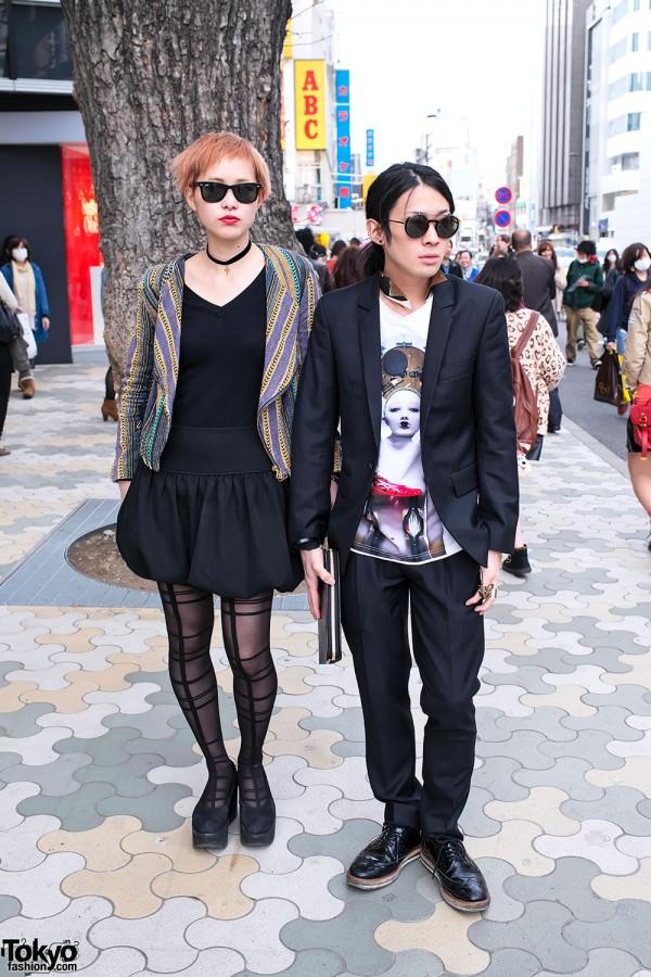 Aran & Hiromi in Harajuku w/ Juun.J, Tokyo Bopper & YSL