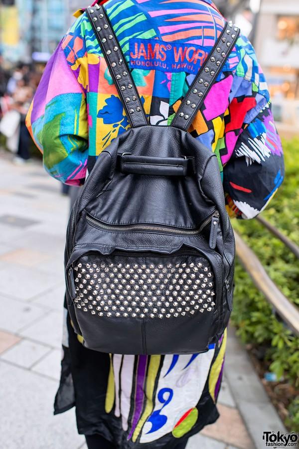 Studded Backpack in Harajuku