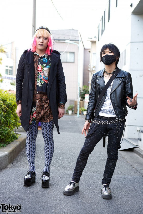 Harajuku Fashion Walk Street Snaps (1)