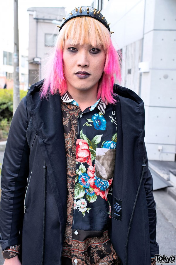 Harajuku Fashion Walk Street Snaps (2)