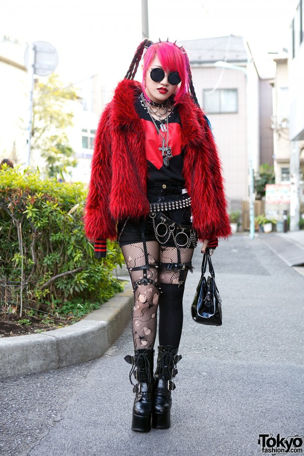 Harajuku Fashion Walk Street Snaps (4)