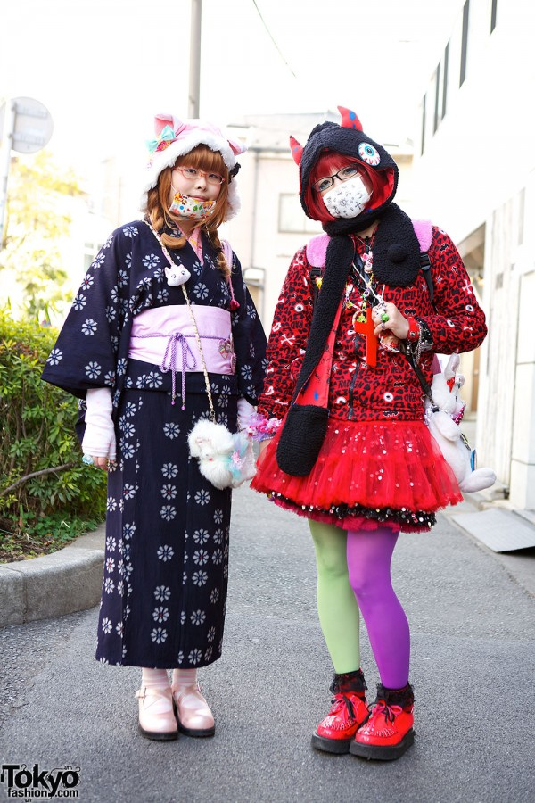 Harajuku Fashion Walk Street Snaps (6)