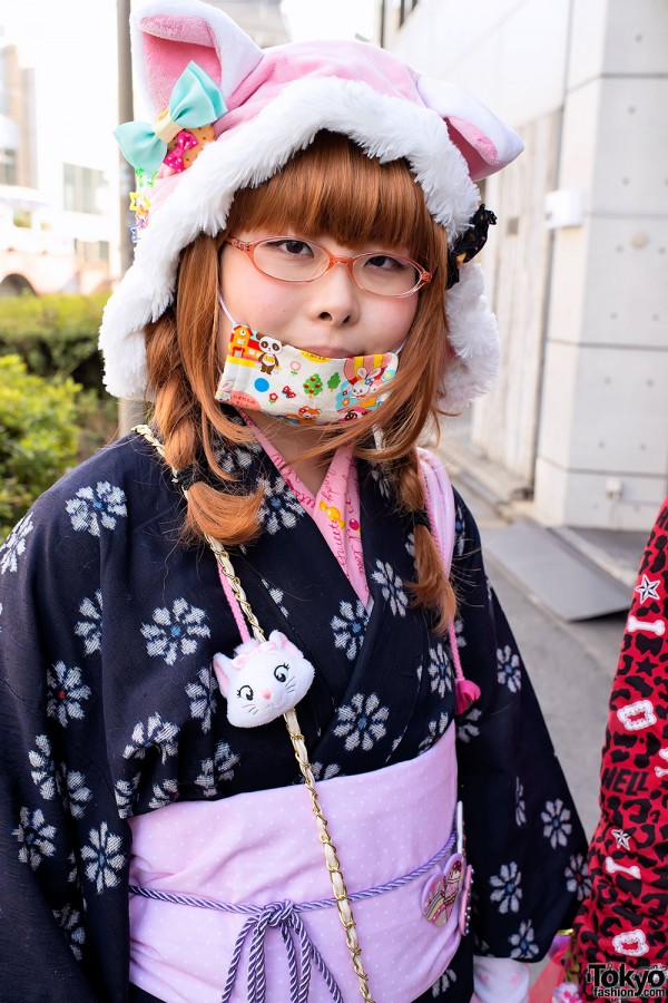Harajuku Fashion Walk Street Snaps (7)