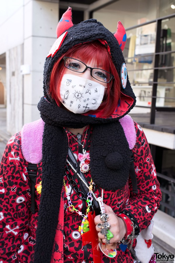 Harajuku Fashion Walk Street Snaps (8)