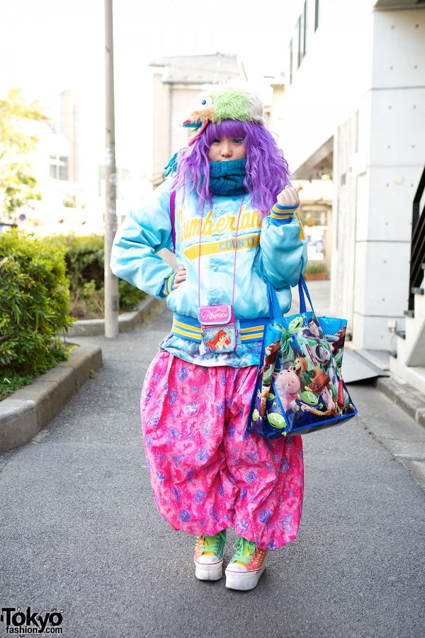 Harajuku Fashion Walk Street Snaps (9)