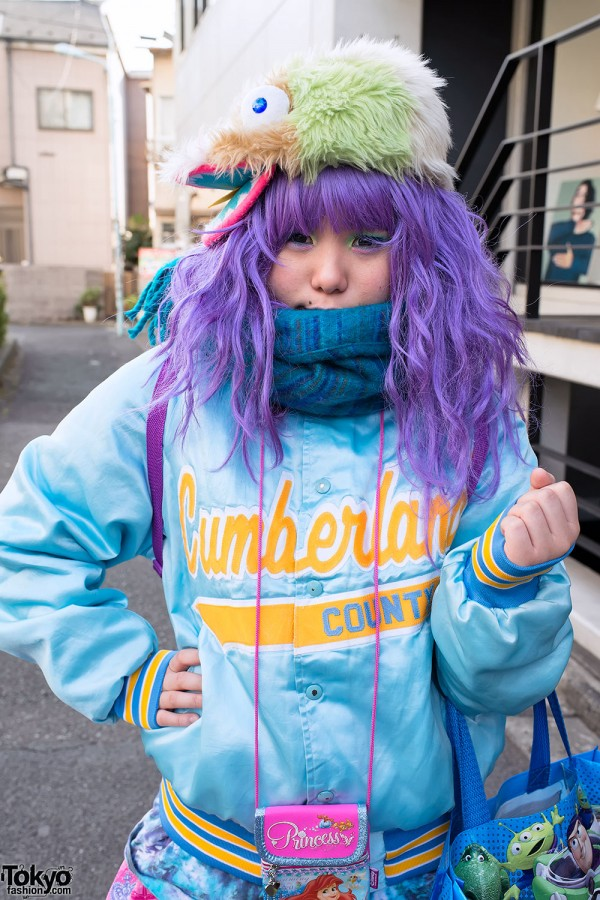 Harajuku Fashion Walk Street Snaps (10)