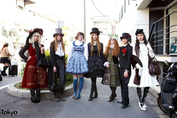 Harajuku Fashion Walk Street Snaps (12)