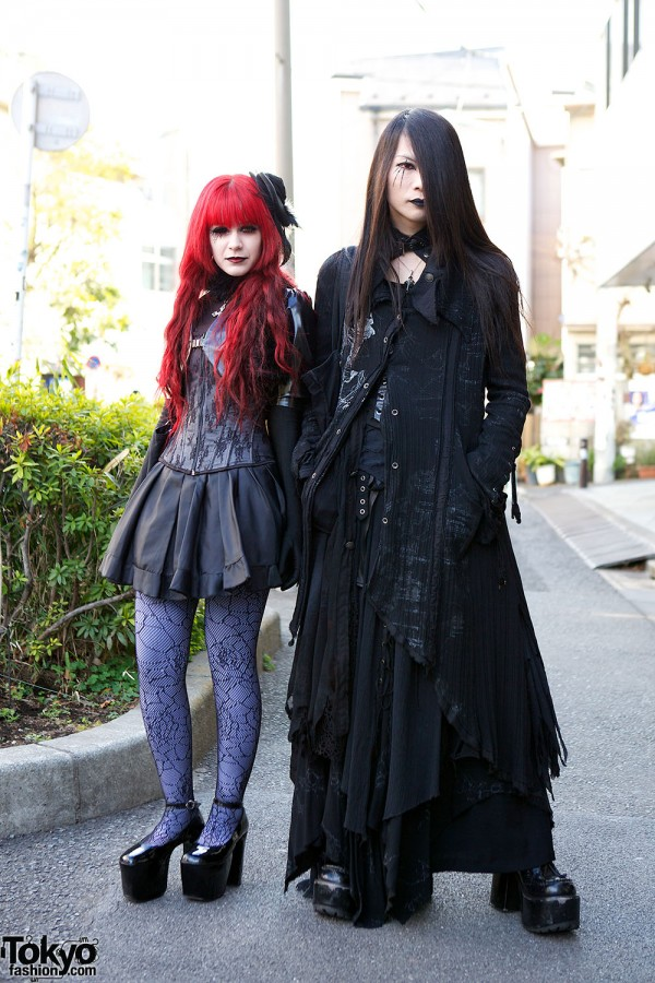 Harajuku Fashion Walk Street Snaps (13)