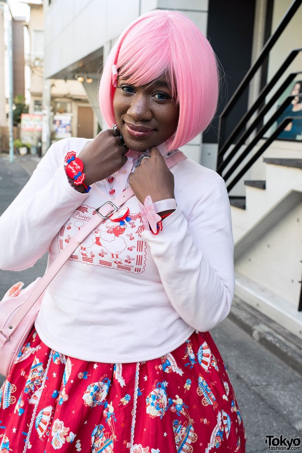 Harajuku Fashion Walk Street Snaps (16)