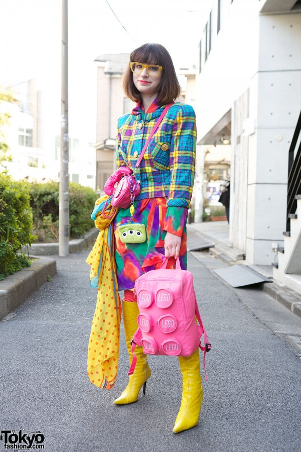 Harajuku Fashion Walk Street Snaps (17)