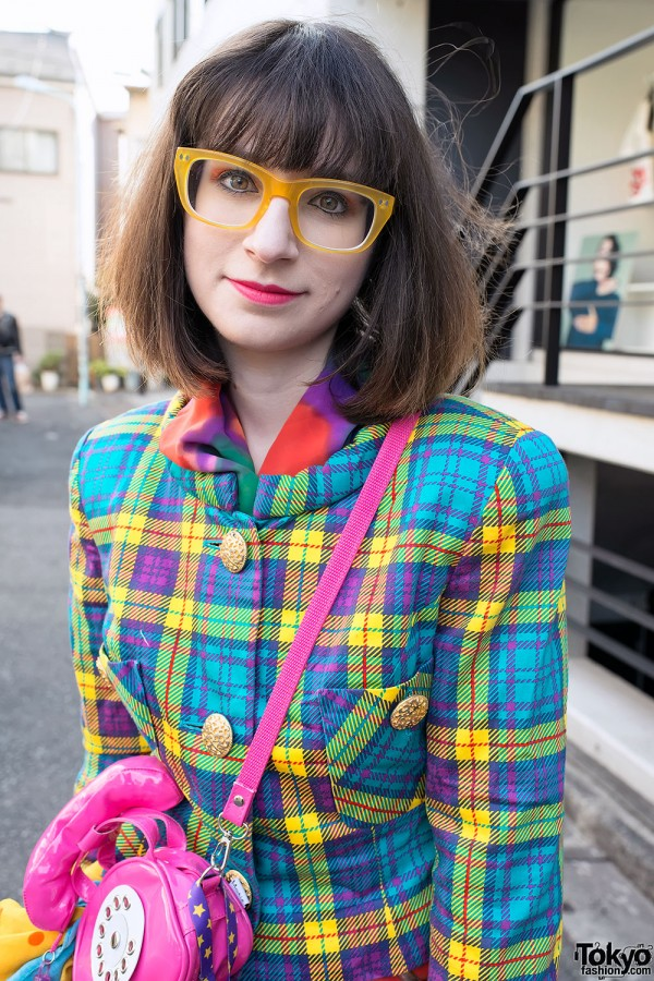 Harajuku Fashion Walk Street Snaps (18)