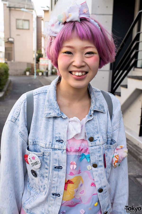 Harajuku Fashion Walk Street Snaps (20)