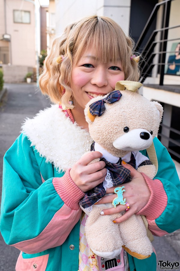 Harajuku Fashion Walk Street Snaps (22)