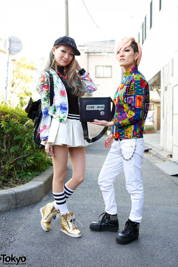 Harajuku Fashion Walk Street Snaps (25)