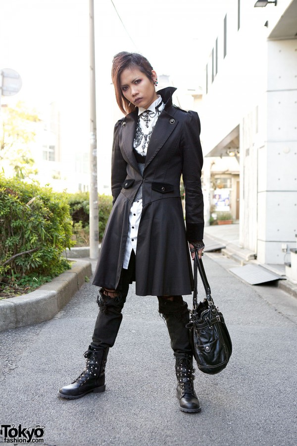 Harajuku Fashion Walk Street Snaps (28)