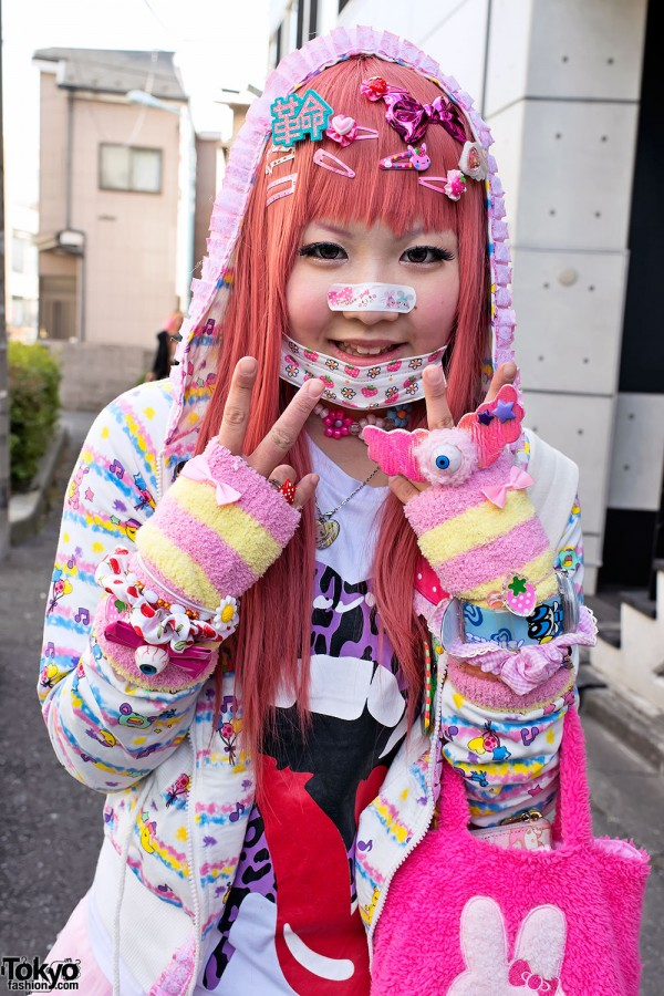 Harajuku Fashion Walk Street Snaps (34)