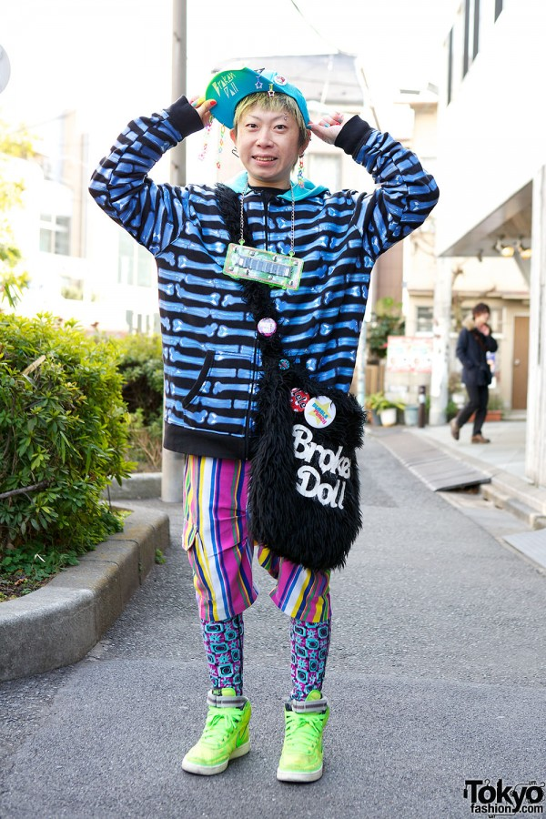 Harajuku Fashion Walk Street Snaps (35)