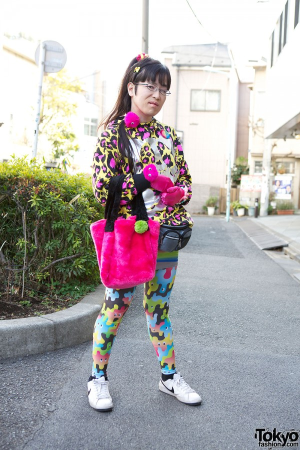 Harajuku Fashion Walk Street Snaps (41)