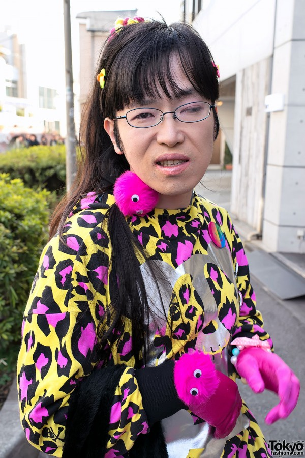 Harajuku Fashion Walk Street Snaps (42)