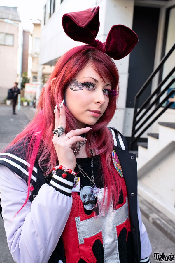 Harajuku Fashion Walk Street Snaps (44)