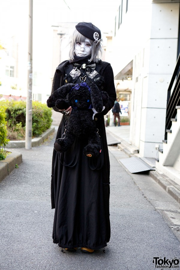 Harajuku Fashion Walk Street Snaps (45)