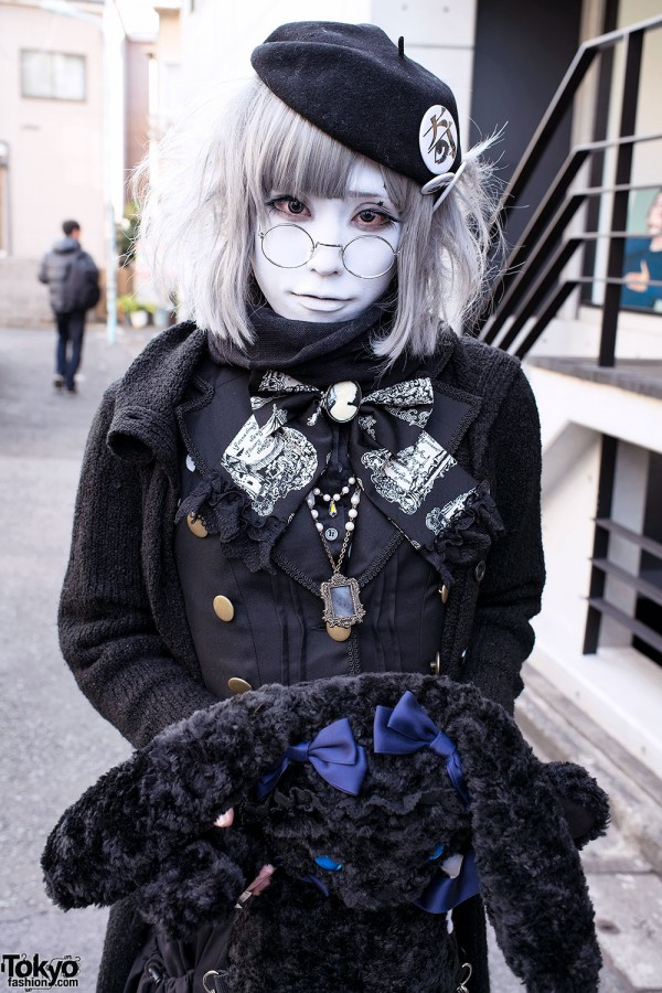 Harajuku Fashion Walk Street Snaps (46)