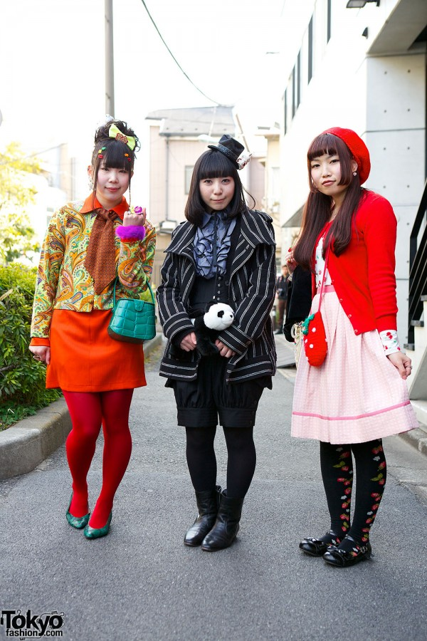 Harajuku Fashion Walk Street Snaps (47)