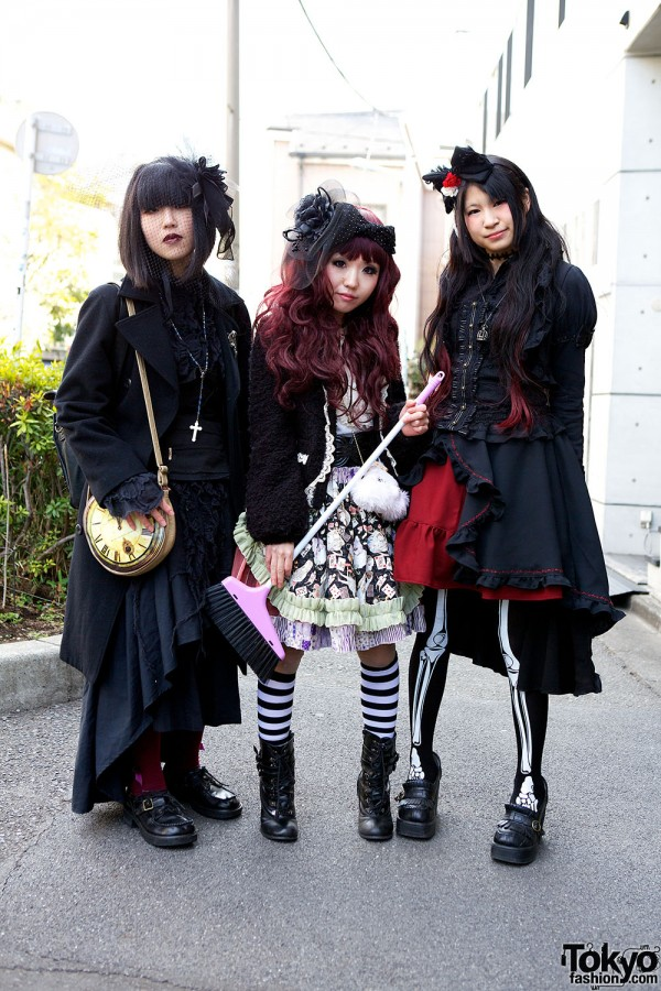 Harajuku Fashion Walk Street Snaps (51)